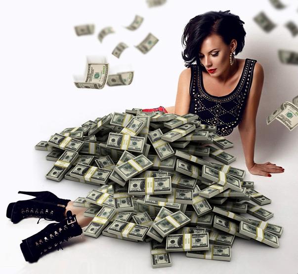веб модель деньги