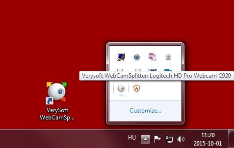 Скриншот сплиттера от verysoft