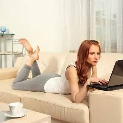 Фото веб модели
